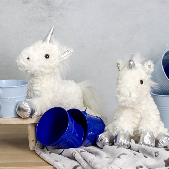 Unicorn Soft Toys - Elisa Unicorn White (38cmHT)