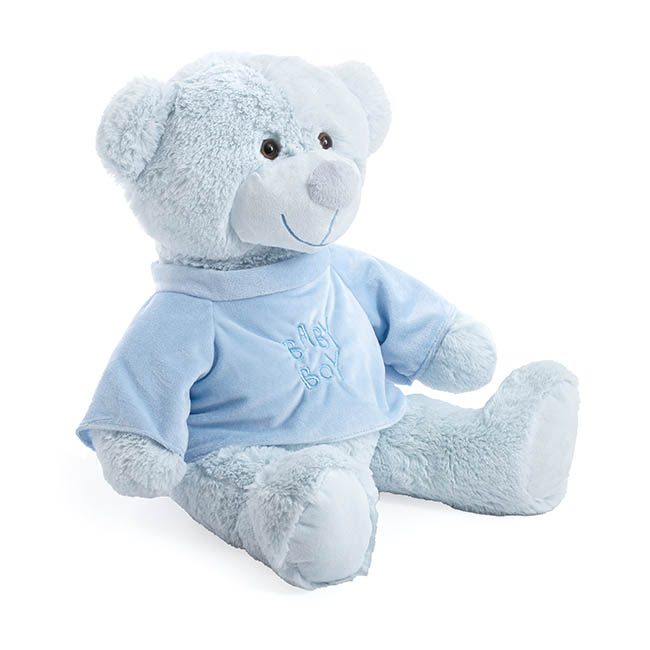 Giant Teddy Bears - Baby Cakes Teddy Bear Light Blue (56cmHT)