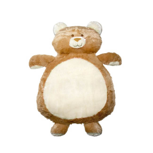 Baby Mat Teddy Bear Shape Cream (90cmHT)