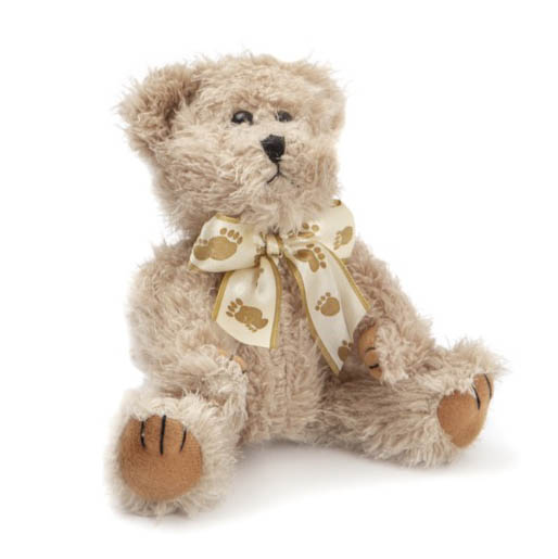 Teddy Bear William Jointed Light Brown (25cmHT)