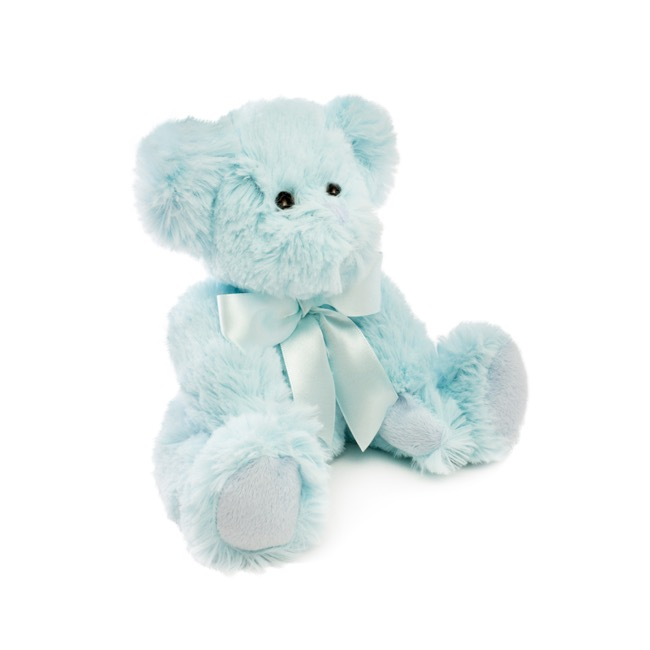 Jade Jointed Teddy Bear Light Blue (25cmHT)