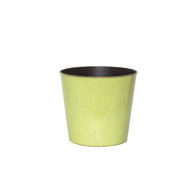 Flora Flower Pots & Planters - Flora Antique Pot Round (13Dx11.5cmH) Light Green