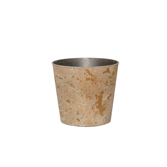 Flora Flower Pots & Planters - Flora Atlantis Pot Round (13Dx11.5cmH) Copper