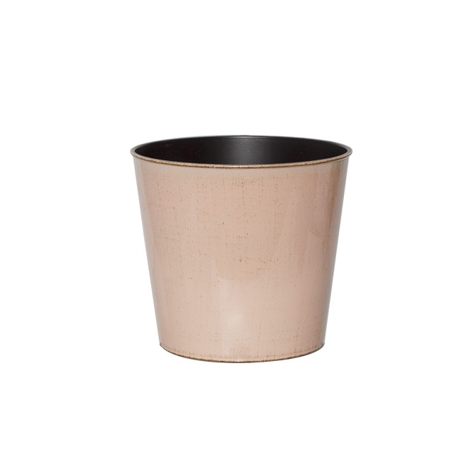 Flora Flower Pots & Planters - Flora Antique Pot Round (15.5Dx13cmH) Light Pink