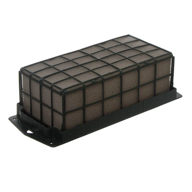 Dry Strass Deco Brick Single with Plastic Cage (23x11x8cmH)