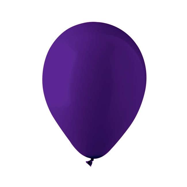 Latex Balloons - Latex Balloon Helium Grade Fashion Purple (30cm) Pack 100