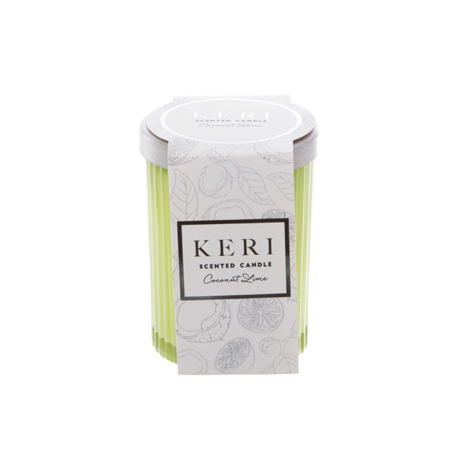 Premium Scented Jar Candle Coconut Lime (7x9.5cmH)