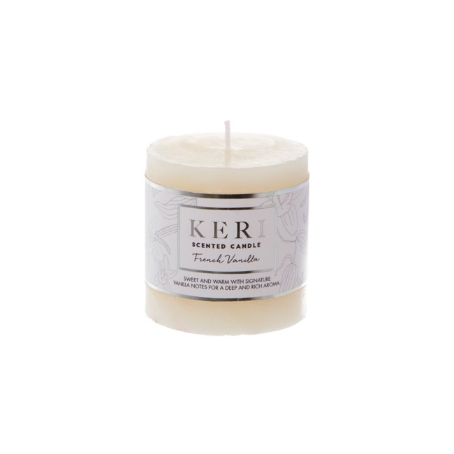 Premium Scented Candle French Vanilla (7x7.5cmH)