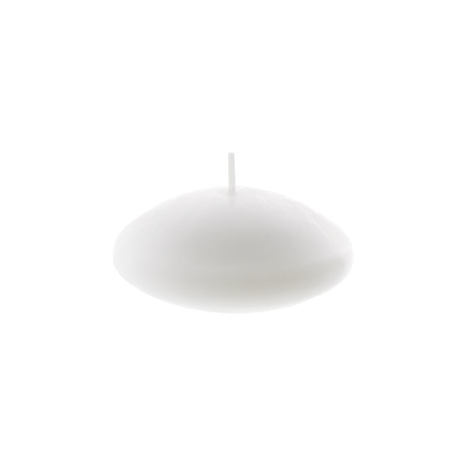 Floating Candles - Floating Candle 7hr White (8x3.5cmH) Pack 2
