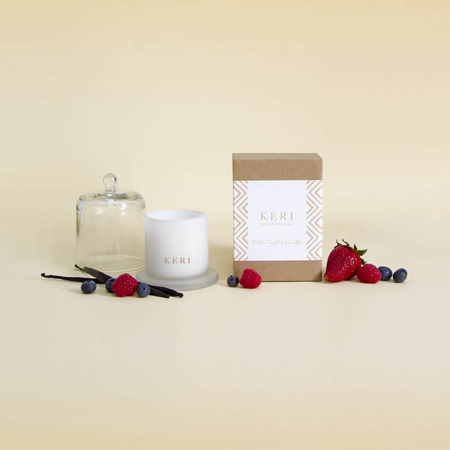Keri Limited Soy Candles - Festive Fruits & Vanilla Keri Soy Candle Ellie Cloche 115g