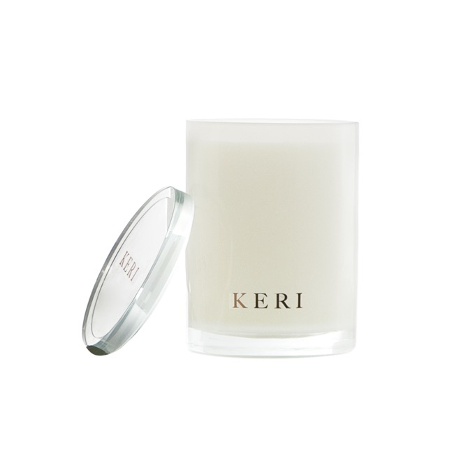 Keri Luxury Soy Candles - Vanilla Creme Keri Luxury Soy Candle Boutique Jar 280g