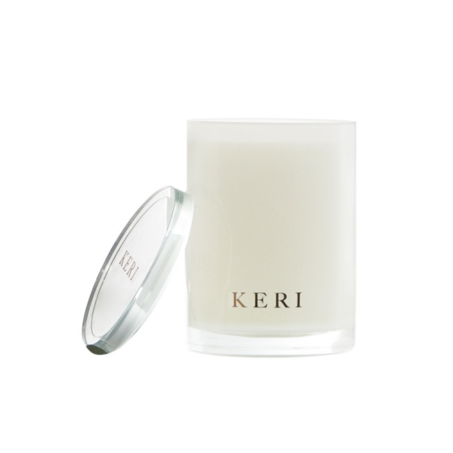 Keri Luxury Soy Candles - Hydrangea & Butter Rum Luxury Soy Candle Boutique Jar 280g