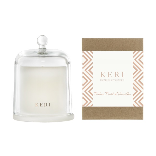 Keri Limited Soy Candles - Festive Fruits & Vanilla Keri Soy Candle Ellie Cloche 285g