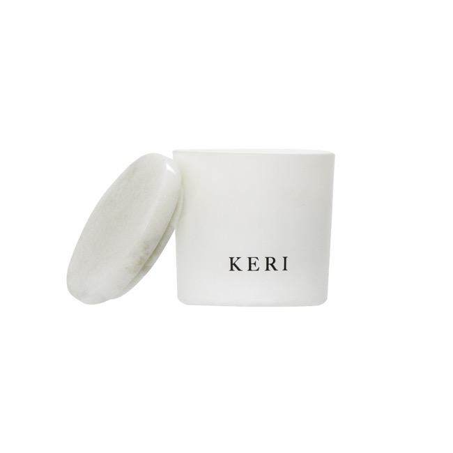 Keri Limited Soy Candles - Amber & Lychee Keri Soy Candle Marble Collection 110g