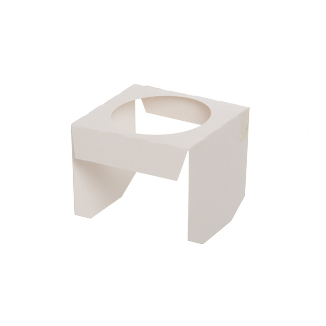 Patisserie & Cake Boxes - Cupcake Insert Single Cupcake White (70x80x70mmH)