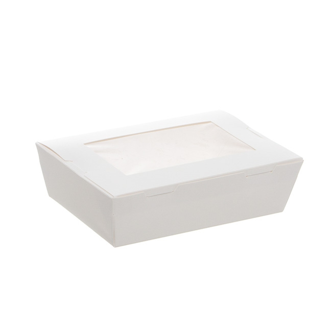 Patisserie & Cake Boxes - Macaron Box White (150x100x45mm)