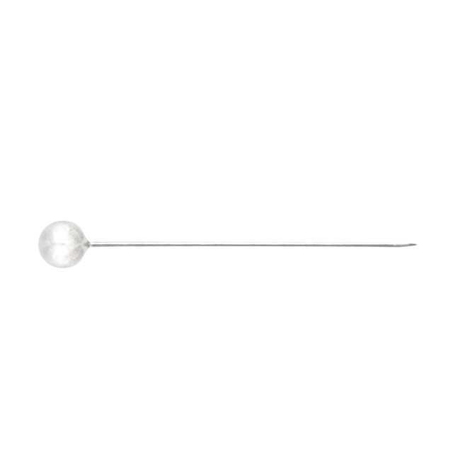 Corsage Decorative Florist Pins - Round Pearl Head Pins Pack 30 White (8mm x 6cm)