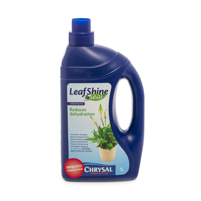 Flower Foliage Treatment - Chrysal BLKW Double Strength Leafshine & Seal 1L Container