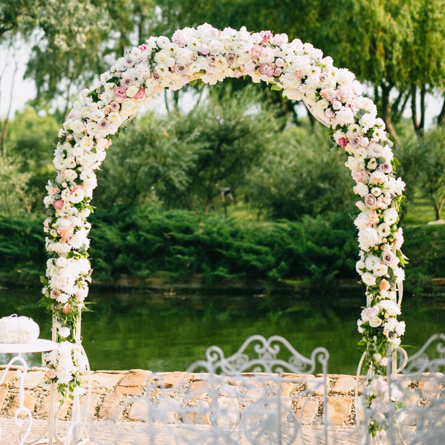 Wedding Arches For Sale: Wedding Arch Simplicity White (173x23x223cmH