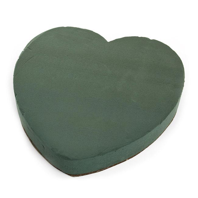 Oasis Heart Solid Strass Paper Base (30cm)