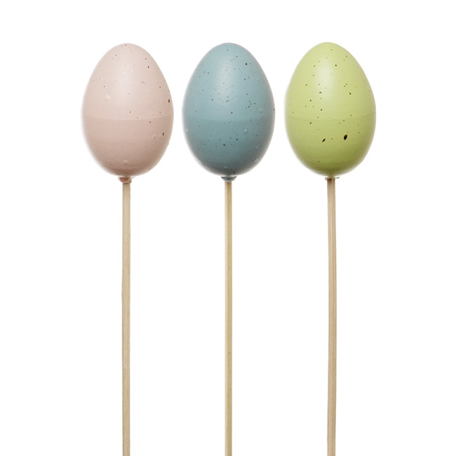 Pastel Egg Picks 6 Pack (7cmx25cmH)