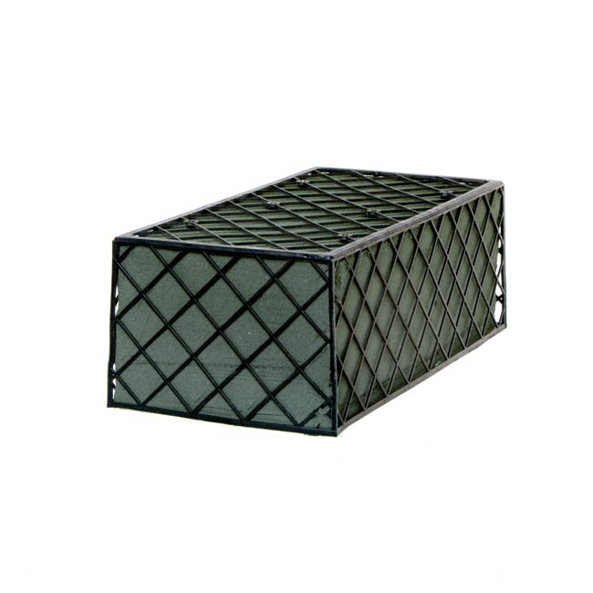 Plastic Net Floral Foam Cage without Base (23x11x8cmH)