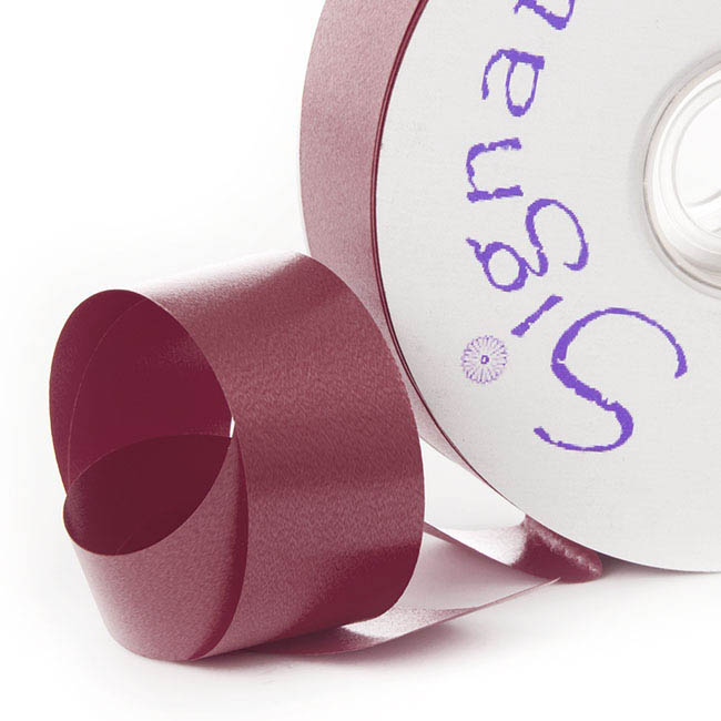 Ribbon Tear Burgundy (30mmx91m)