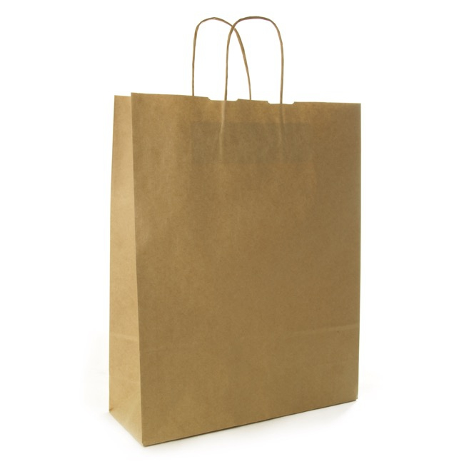 giant brown paper bag