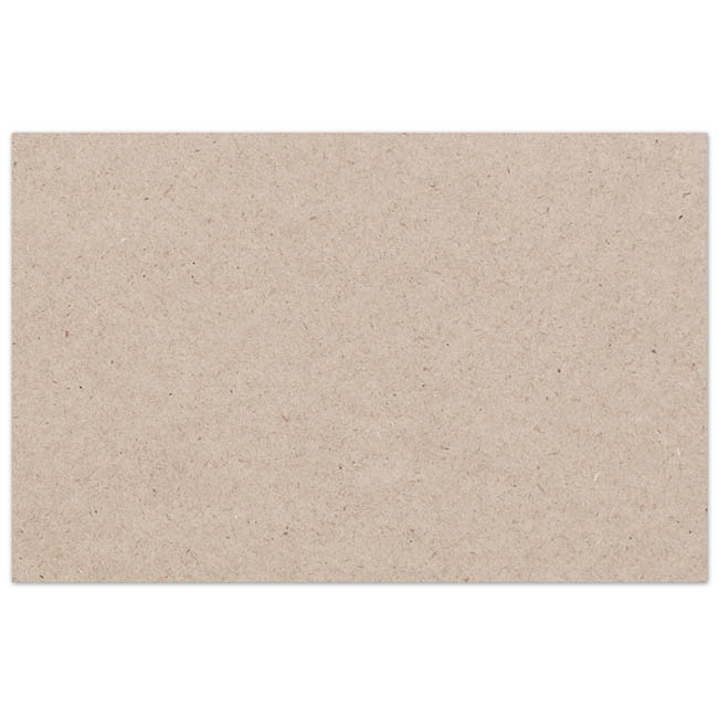 Florist Enclosure Cards - Cards Brown Kraft Mono Ivory (10x6.5cmH) Pack 50