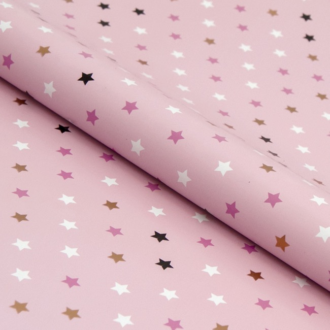 Counter Rolls - Counter Handi Roll Gloss Star Pink (70cmx10m)
