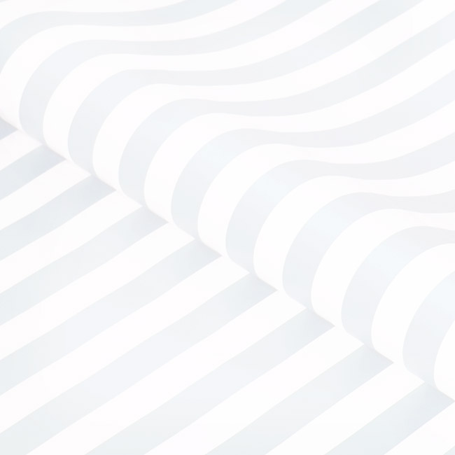 Counter Rolls - Counter Roll Bold Stripe Gloss Baby Blue White (50cmx50m)