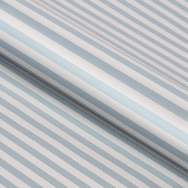 Counter Rolls - Counter Roll Thin Stripe Gloss Baby Blue White (50cmx50m)