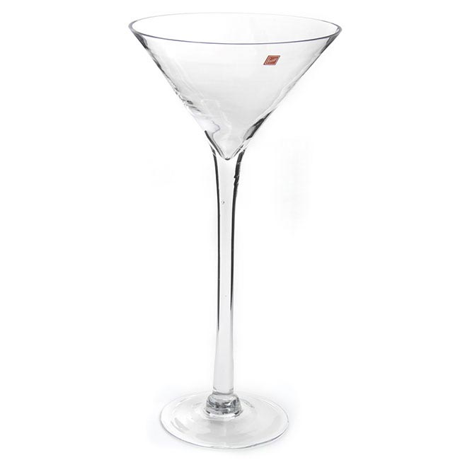 Glass Martini 26Dx50cmH (Wide) Clear