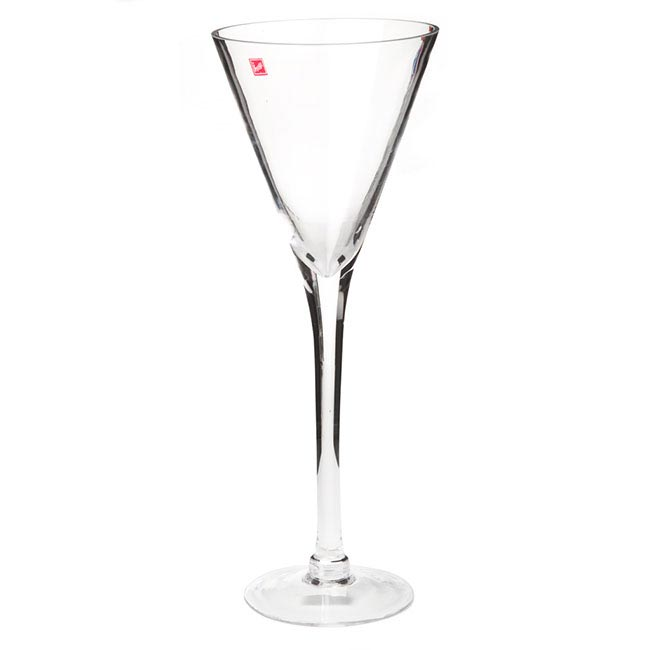 Glass Martini 19Dx50cmH Clear