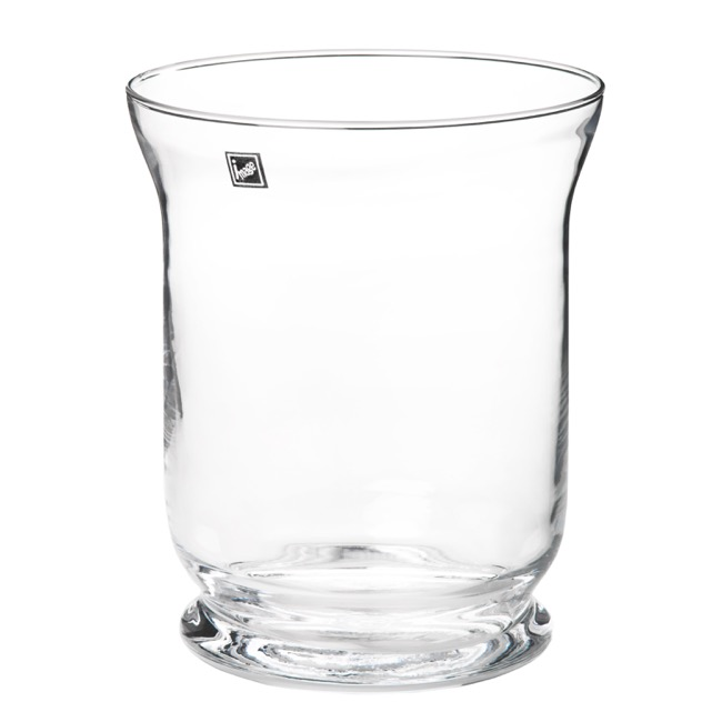 Hurricane Glass Vases - Glass Hurricane Classic 19x23cmH Clear