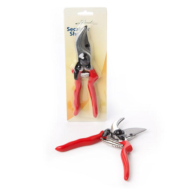Secateurs Garden Shear Red Handle (25cm - 10