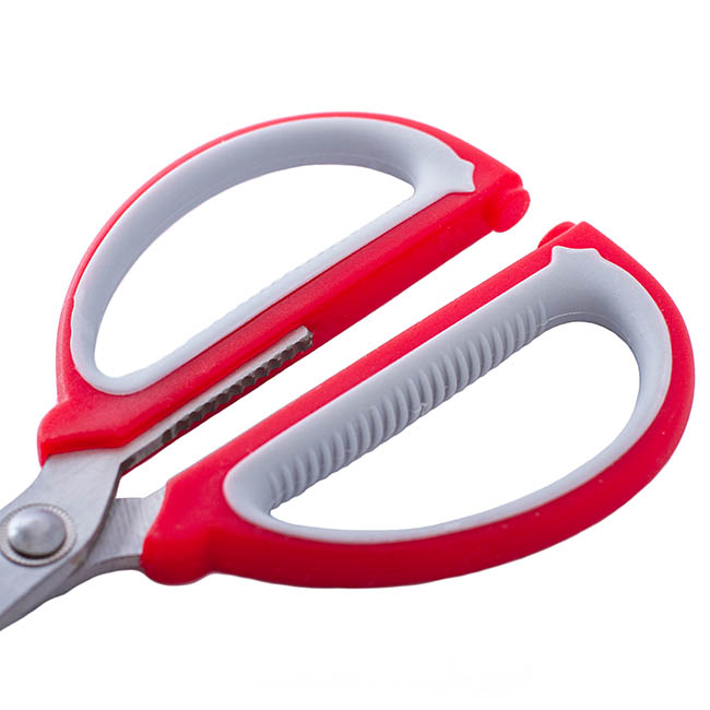 Florist & Craft Scissors - Scissors Florist and CRAFT Red & Grey (19cm - 7.5