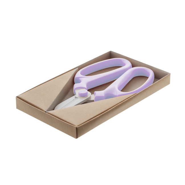 Scissors Shears Floral Cutters - Flower Snips Gift Box Light Purple (17cm-6.7