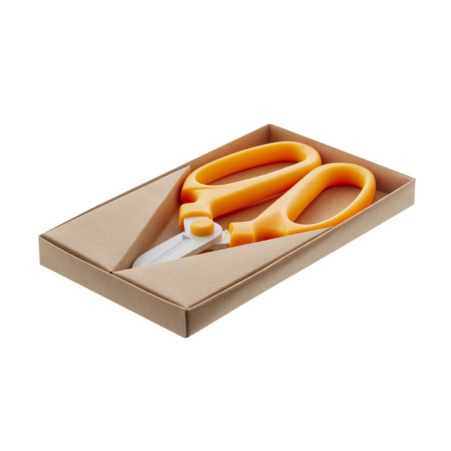 Scissors Shears Floral Cutters - Flower Snips Gift Box Orange (17cm-6.7