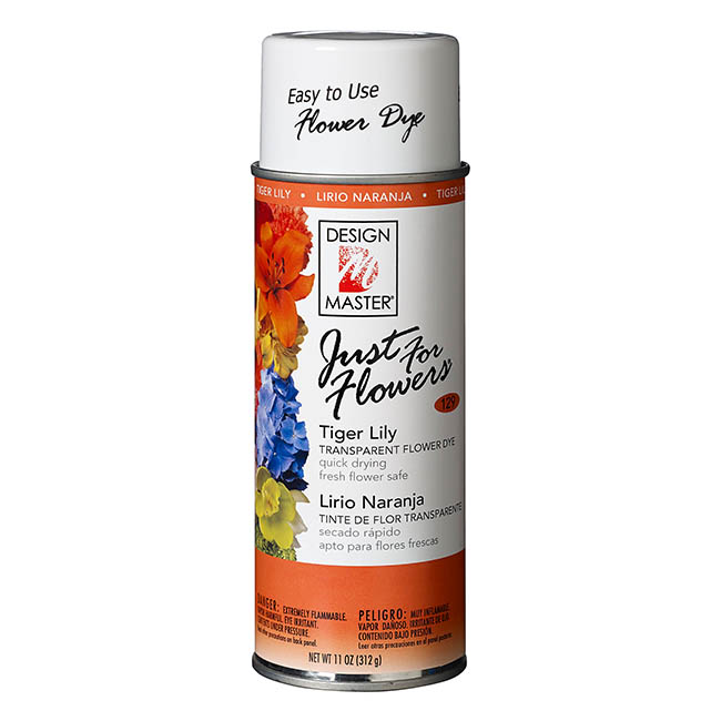 Design Master Spray Just For Flowers Tiger Lily 312g