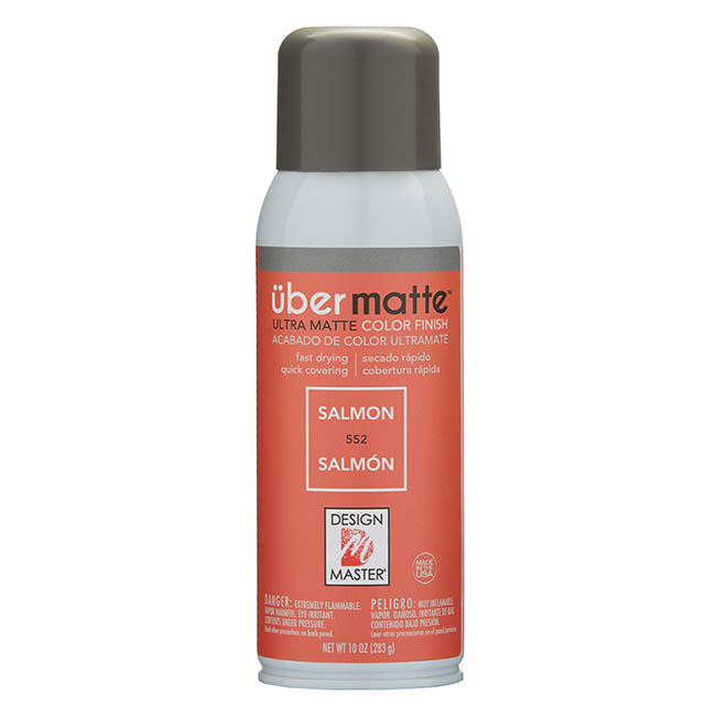 Ubermatte - Design Master Spray Paint Übermatte Salmon (283g)