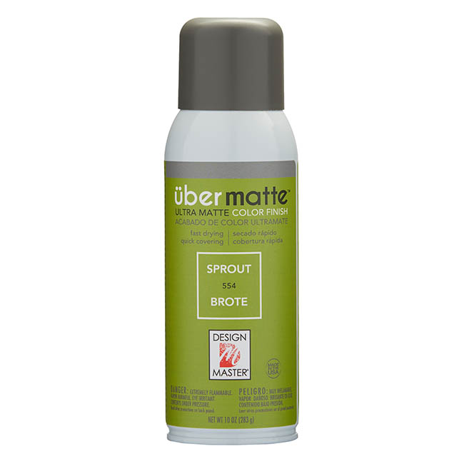 Matte Spray Paint - Design Master Spray Paint Übermatte Sprout (283g)