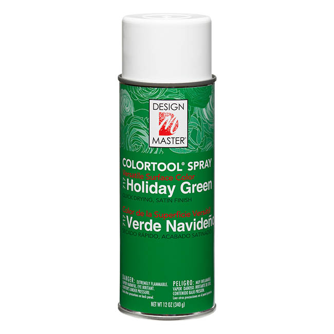 Colourtools - Design Master Spray Paint Colortools Holiday Green (340g)