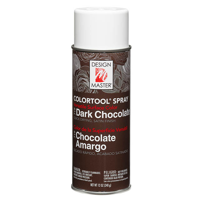 Colourtools - Design Master Spray Paint Colortools Dark Chocolate (340g)