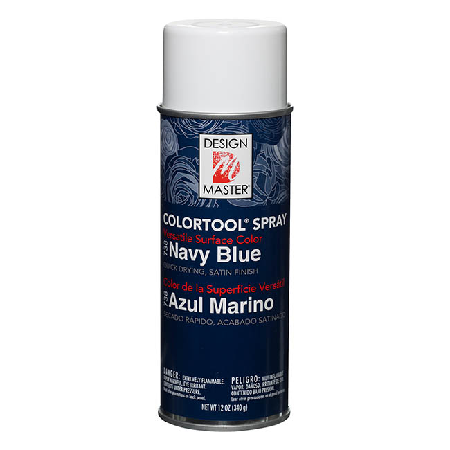 Colortool Floral Spray Paint - Design Master Spray Paint Colortools Navy Blue (340g)