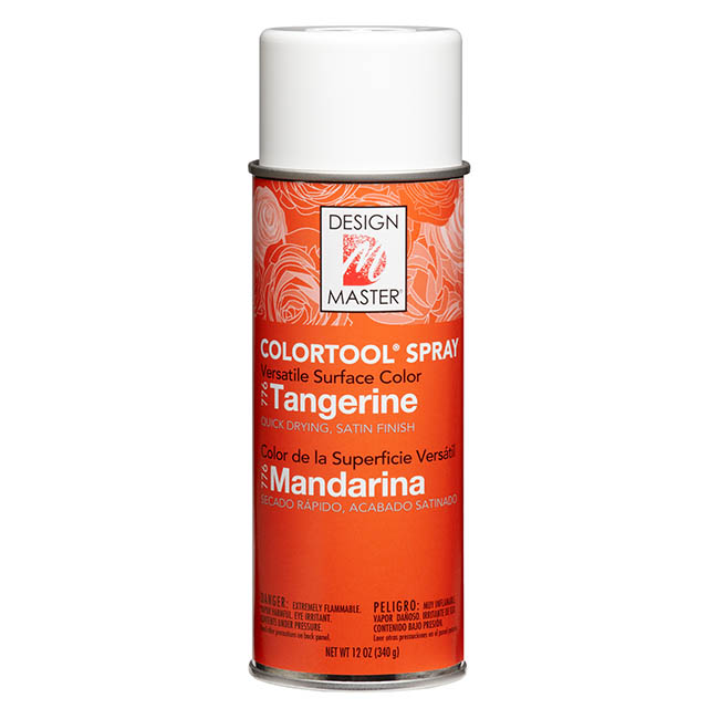 Colourtools - Design Master Spray Paint Colortools Tangerine (340g)