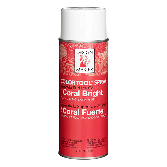 Colourtools - Design Master Spray Paint Colortools Coral Bright (340g)