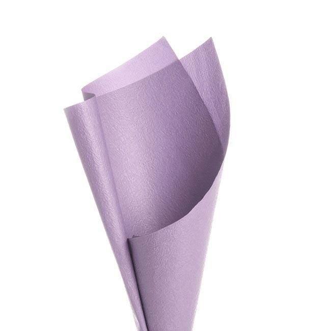 Embossed Paper 50 Sheets Lavender (50x70cm)
