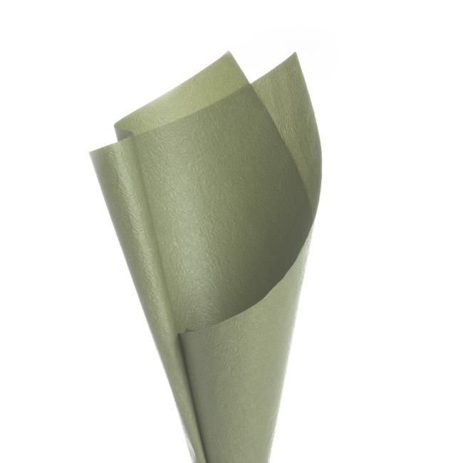 Embossed Paper 50 Sheets Sage Green (50x70cm)