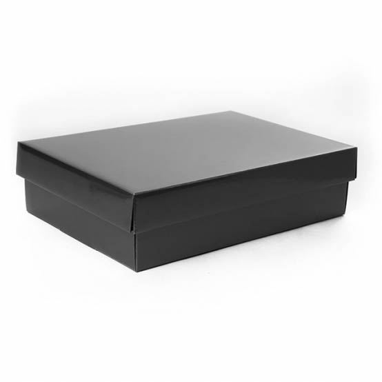 Gourmet Box Rectangle Small Black (33x23x9cmH)